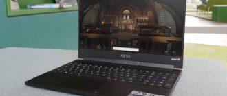 Ноутбуки Gigabyte с поддержкой