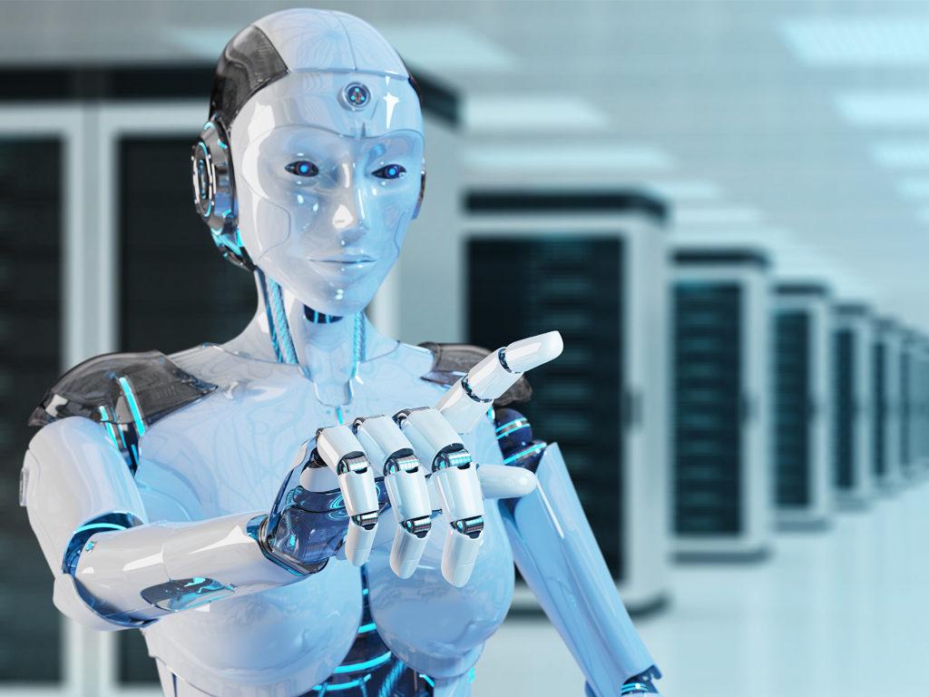 Робот SAM от Samsung идет в вузы